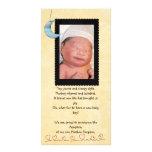 photocard de faire-part d'adoption cartes de vœux avec photo