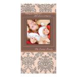 Photocard vintage de famille de Noël Photocarte Personnalisée