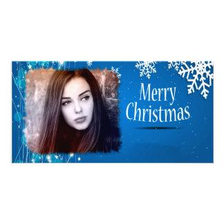 photocards de Noël Photocarte