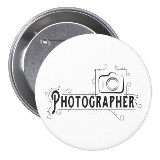 Photographe Badge Rond 7,6 Cm
