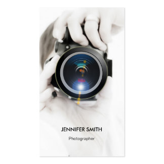 Cartes De Visite Photographe Zazzle Fr