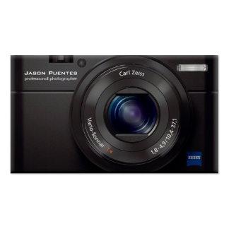 Photographe de professionnel d appareil photo numé carte de visite