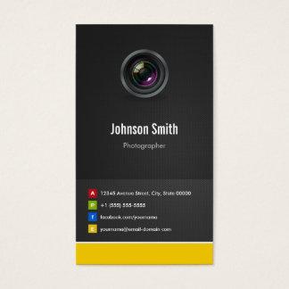 Photographe - innovateur créatif de la meilleure cartes de visite