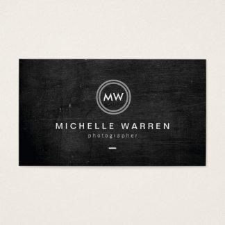 Photographe moderne du logo II d'initiales Cartes De Visite