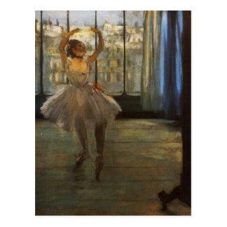 Photographe posant de l'ONU de chez de danseuse Carte Postale