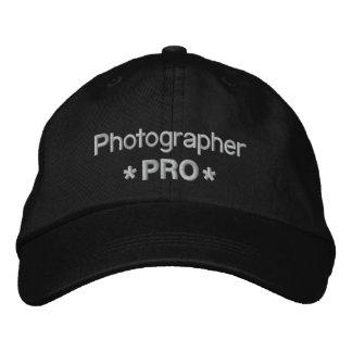 Photographe pro casquette brodée
