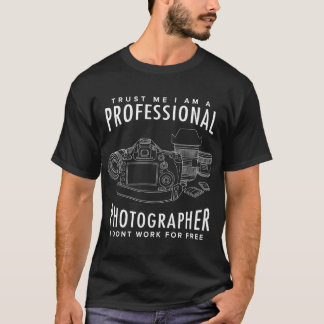 Photographe professionnel t-shirt