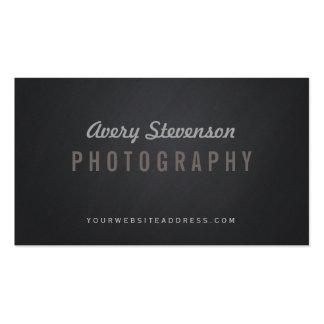 Photographe vintage de hanche de typographie âgé carte de visite standard