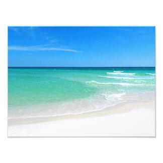 Photographie blanche de plage