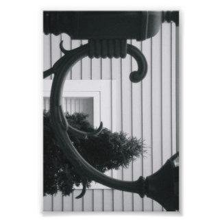 Photographie C5 4x6 noir et blanc de lettre d'alph