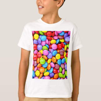 Photographie colorée de sucreries t-shirt
