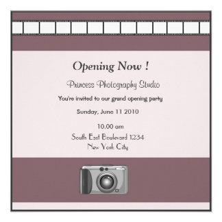 Photographie d invitation d ouverture officielle