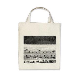 Photographie de canons de guerre civile sac en toile