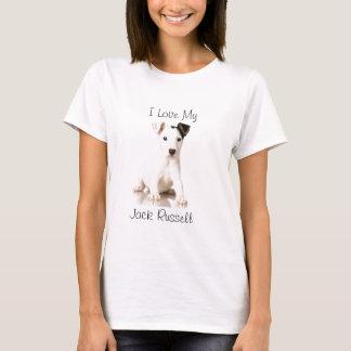 Photographie de chiot de Jack Russel T-shirt