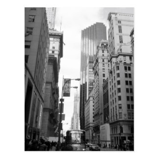 Photographie de gamme de gris de New York City Cartes Postales