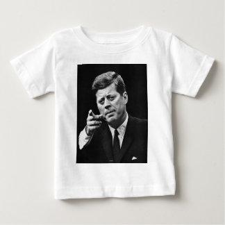 Photographie de John F. Kennedy 3 T-shirt Pour Bébé
