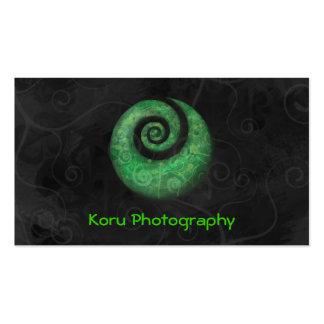 Photographie de Koru Carte De Visite Standard