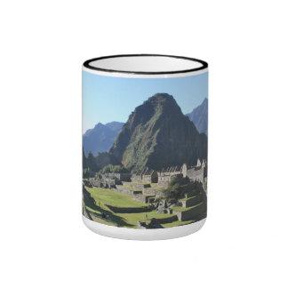 Photographie de Machu Picchu Mug Ringer