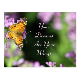Photographie de papillon de rêves et d'ailes cartes postales