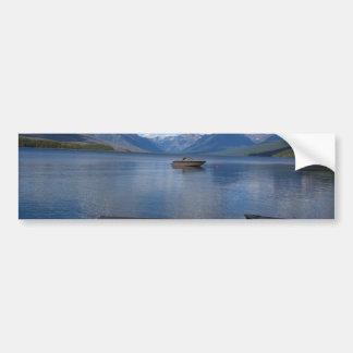 Photographie de parc national de glacier autocollant pour voiture
