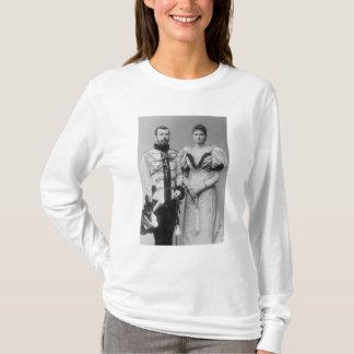 Photographie de portrait de tsar Nicholas II T-shirt