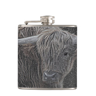 Photographie des montagnes de vache flasques