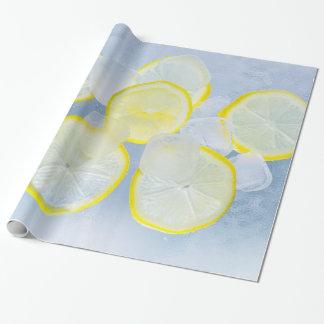 photographie fraîche de boissons de soude de glace papier cadeau noël