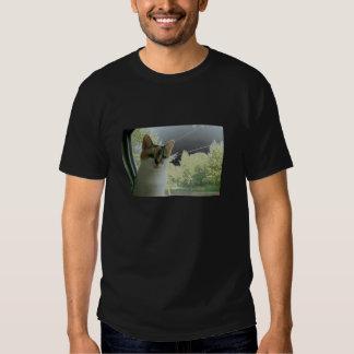 photographie fraîche de chat conçue par lubera de t-shirt