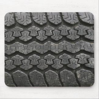 Photographie noire Mousepad de bande de roulement  Tapis De Souris