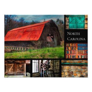 Photographie rustique de grange de ferme de la