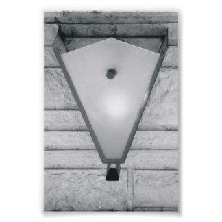Photographie V2 4x6 noir et blanc de lettre d'alph