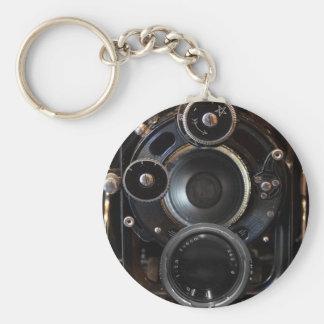 Photographie vintage d'antiquité d'appareil-photo porte-clés