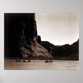 Photographie vintage de Canyon de Chelly Poster