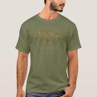 Physique une étiquette - la géométrie sacrée t-shirt