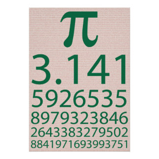 Pi ! posters