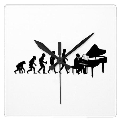 Pianiste Horloge