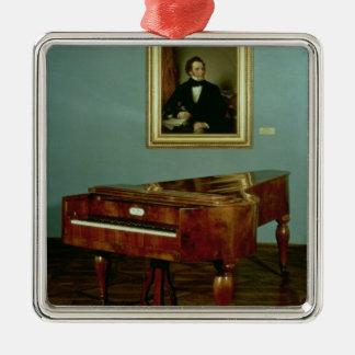 Piano appartenant à Franz Peter Schubert Ornement Carré Argenté