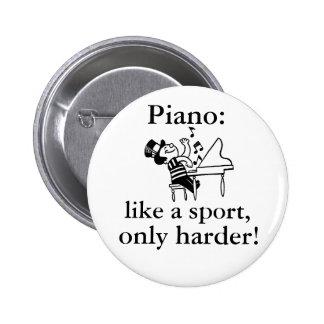 Piano : Comme un sport Badge