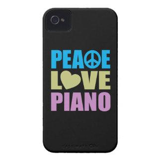 Piano d amour de paix coques iPhone 4