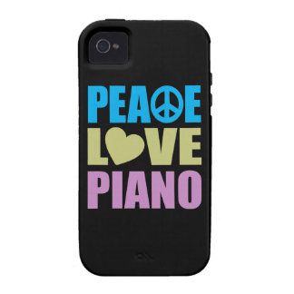 Piano d amour de paix coque iPhone 4 de Case-Mate