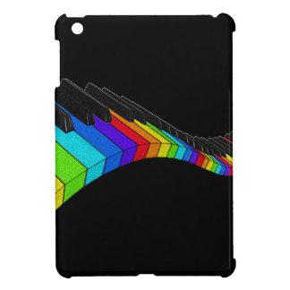 Piano d'arc-en-ciel coques iPad mini