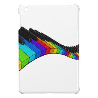 Piano d'arc-en-ciel coques pour iPad mini