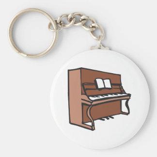 PIANO DROIT PORTE-CLÉ ROND