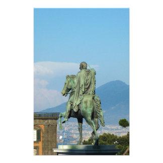 Piazza del Plebiscito, Naples Papier À Lettre