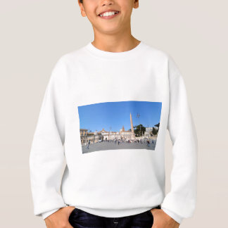 Piazza del Popolo, Rome, Italie Sweatshirt