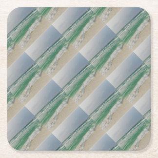 PIC d'océan Dessous-de-verre Carré En Papier
