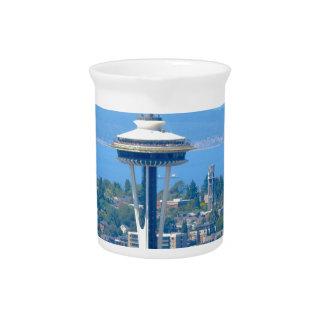 Pichet Aiguille de l'espace d'horizon de Seattle