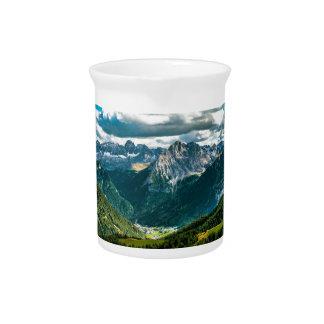 Pichet Alpes de dolomites, Italie