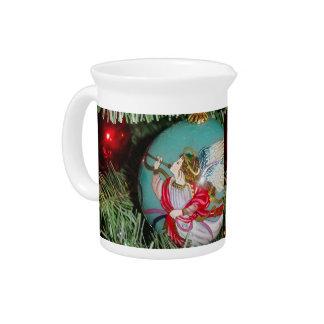 Pichet Ange de Noël - art de Noël - décorations d'ange
