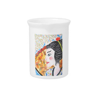 Pichet Aquarelle China, design original et artistique